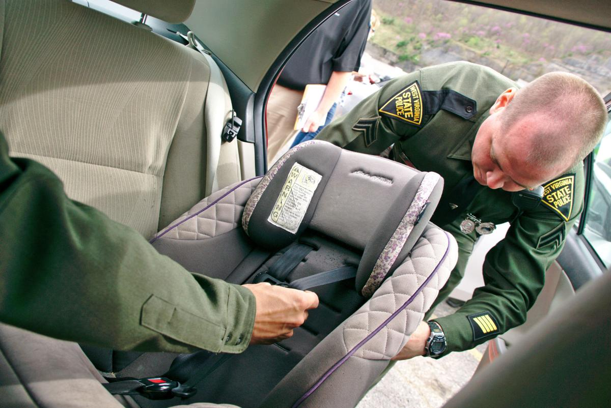 Wv Car Seat Laws >> Law Enforcement Medical Specialists Hold Car Seat Safety Check