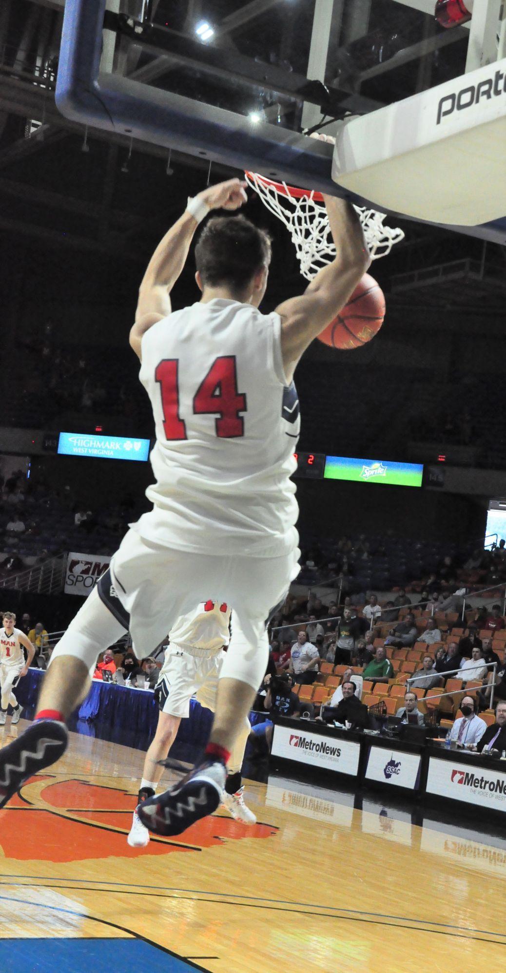 Man PC Austin Ball game clinching dunk