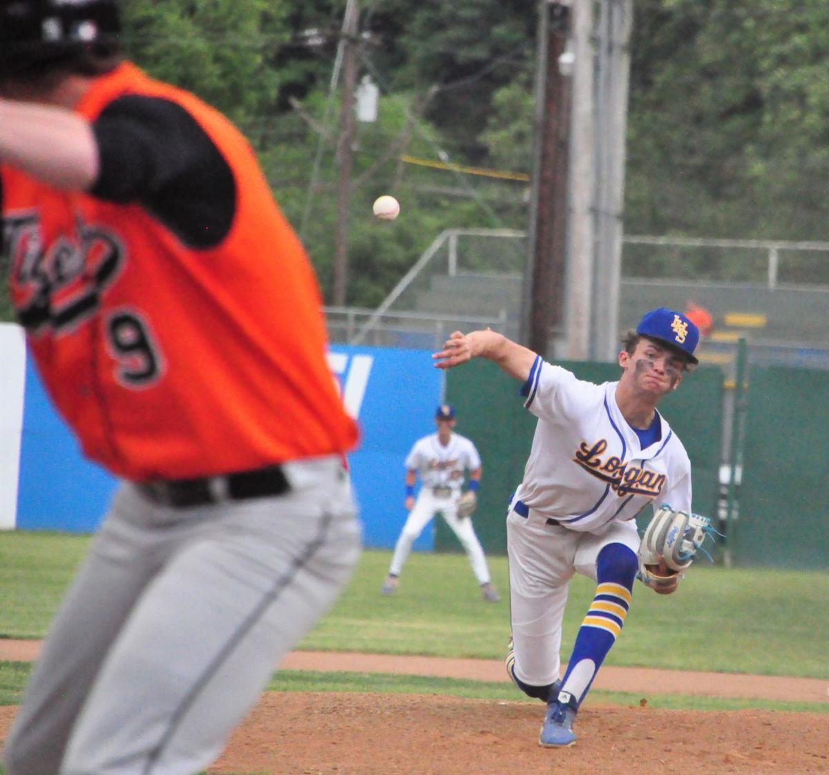 0210609-log-logan sectional baseball finals Jarron Glick pitching BEST