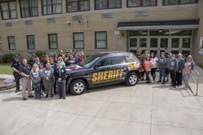 Logan County Sheriff's Department debuts newly-marked PRO cruiser