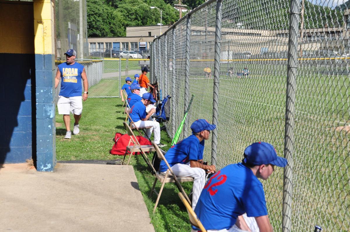 20200624-log-little league opener Cubs bench