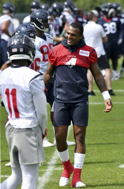 Texans Camp Football