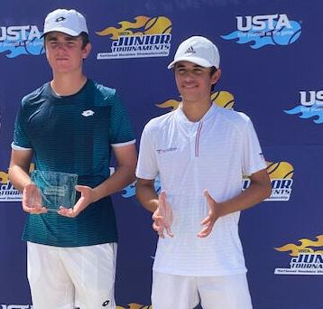 Youth doubles team at nationals