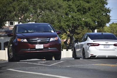 Cuesta Drive speed bumps