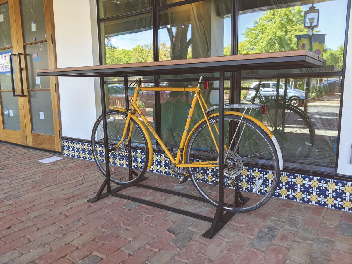 State Street Market Bike Table