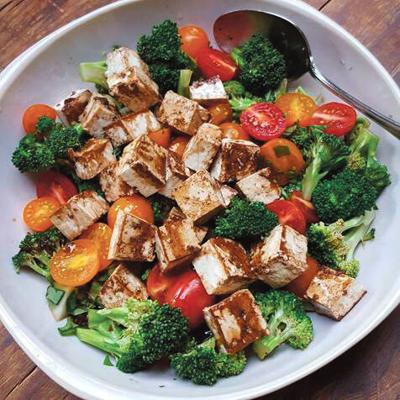 Chilled Tofu Salad
