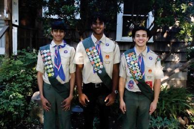 Troop 37 scouts