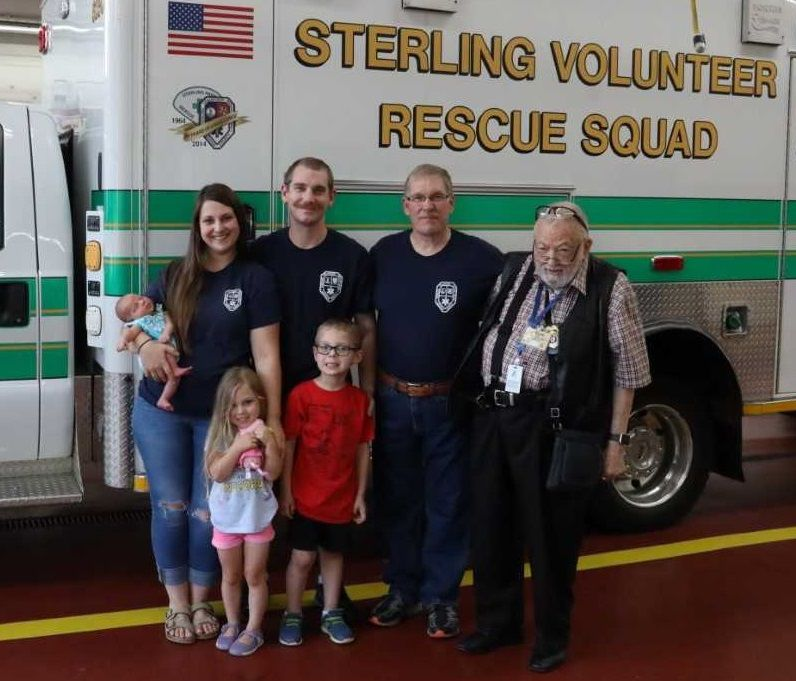 The Grant Family | Sterling Volunteer Rescue Squad