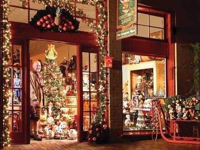 Dieter Rausch at The Christmas Sleigh