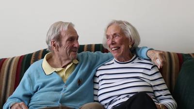 Bob and Ruth Platenberg at Waltonwood