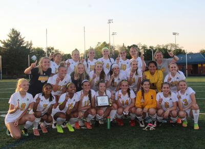 Loudoun County girls soccer champs