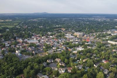 Leesburg From Above