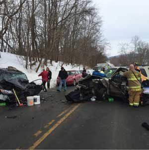 Two seriously injured in Route 50 crash | News