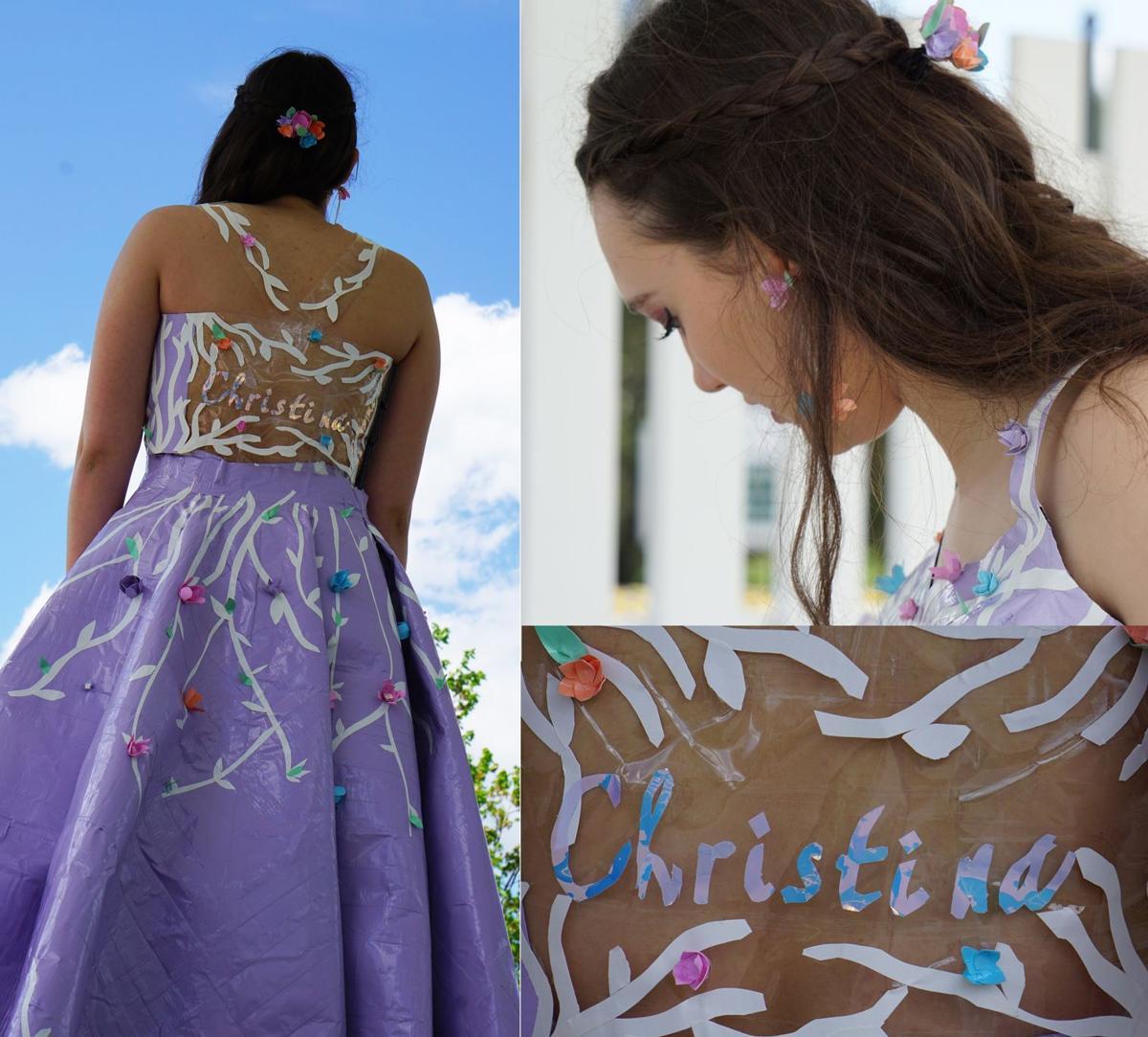 Duck Tape Dress from Christina Mellot