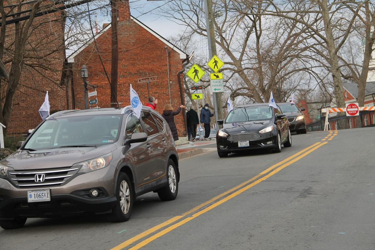MLK Day procession in Leesburg