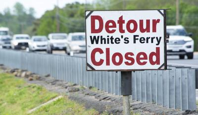 White's Ferry Detour