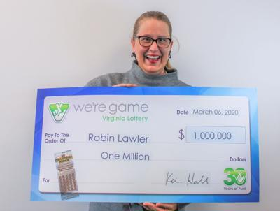 Robin Lawler lottery win