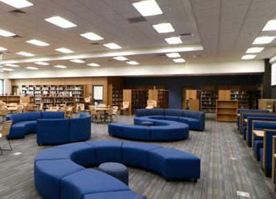 Independence High School library (copy)