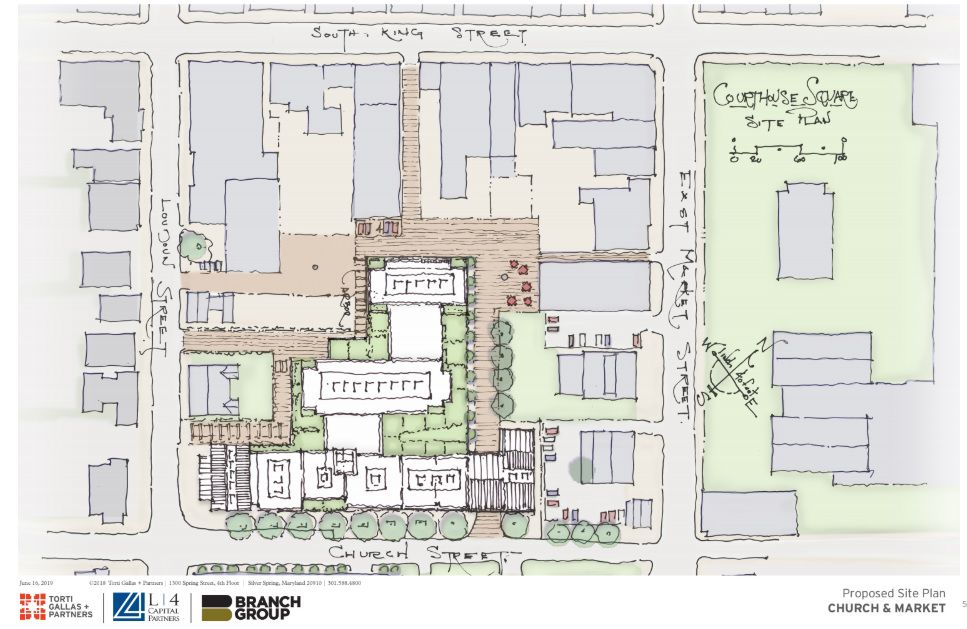 Church Market Site Plan
