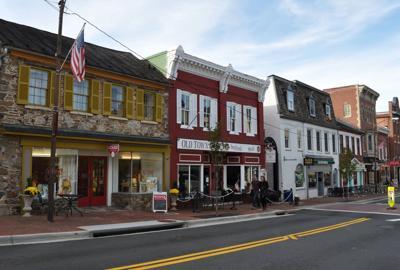 King Street in downtown Leesburg