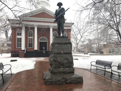 Leesburg   Confederate monument Leesburg 1