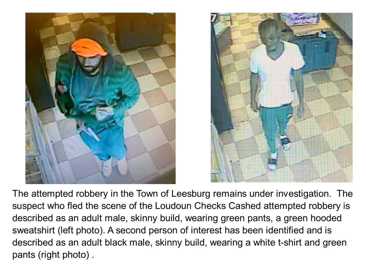Suspects in Leesburg