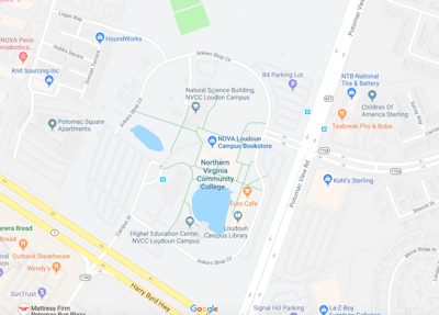 Northern Virginia Community College | Google Map