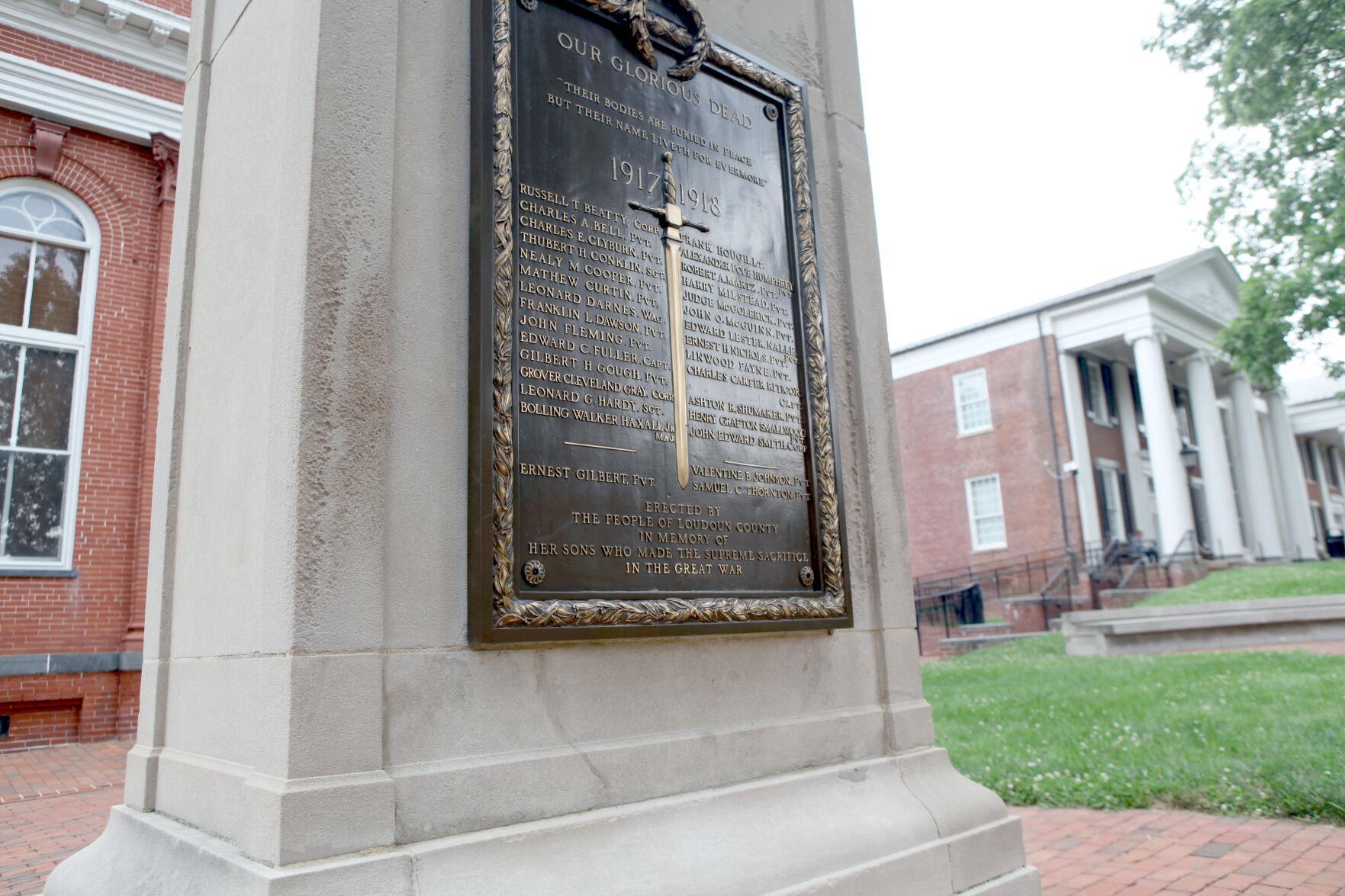 World War I memorial | Plaque 1
