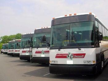 Loudoun Transit buses