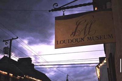 Loudoun Museum street sign