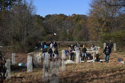 Loudoun Wildlife Conservancy Volunteer Tree Planting 2019