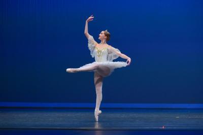 Bryn Wertz dancing