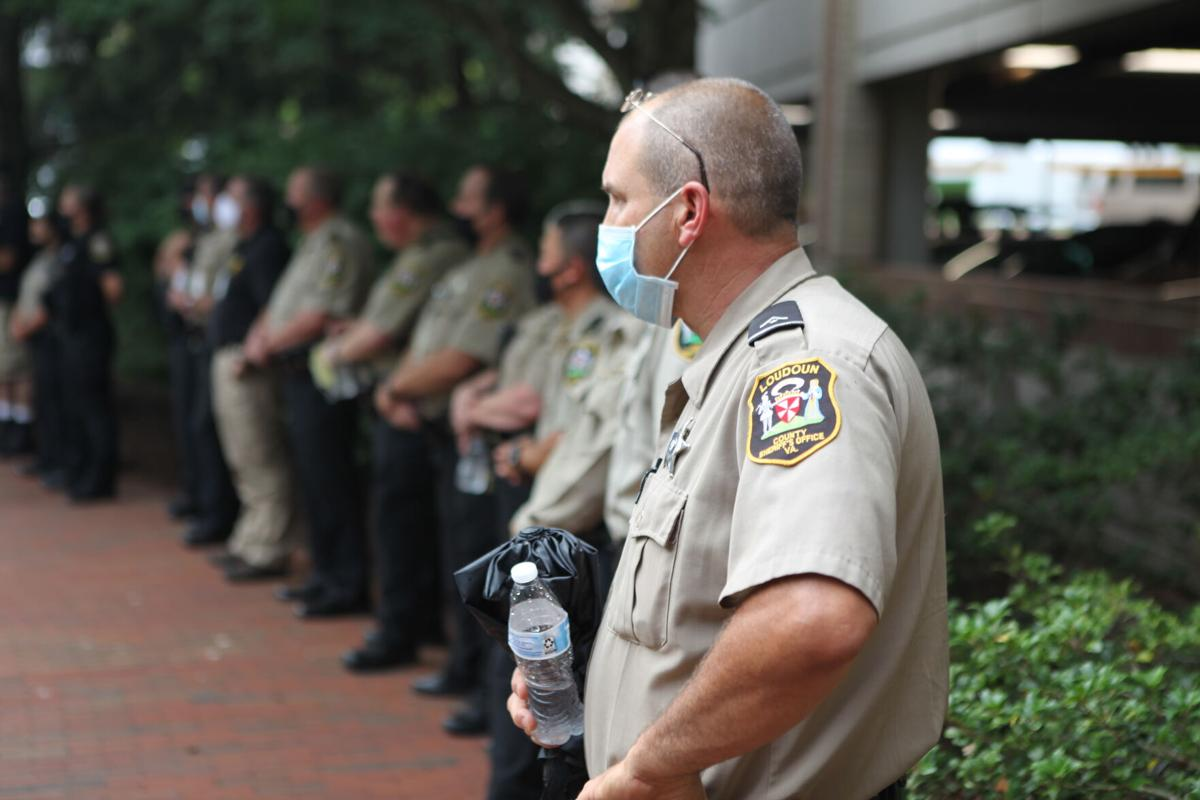Rally for Loudoun County Sheriff's Office | Crowd 2