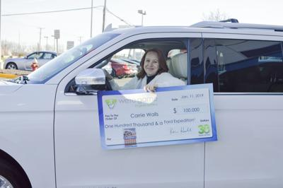 Ashburn woman wins $100,000 and Ford Expedition
