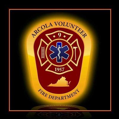Arcola Volunteer FD badge