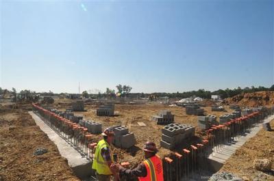 Waxpool Elementary construction