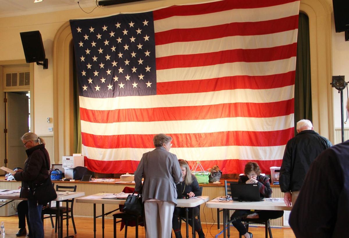 Old Stone School Hillsboro voting