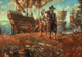Jamestown Painting