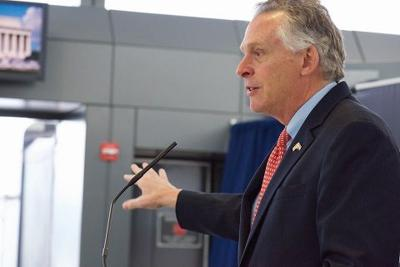 McAuliffe announces nonstop flights between Dulles and India, says Virginia welcomes everyone