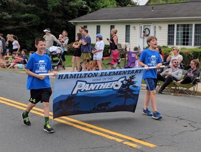 Hamilton Elementary parade