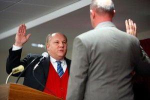 Leesburg councilman Tom Dunn