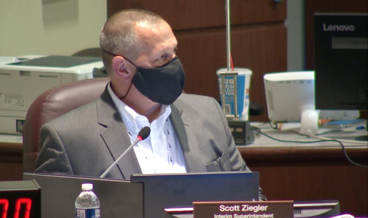 Superintendent Scott Ziegler