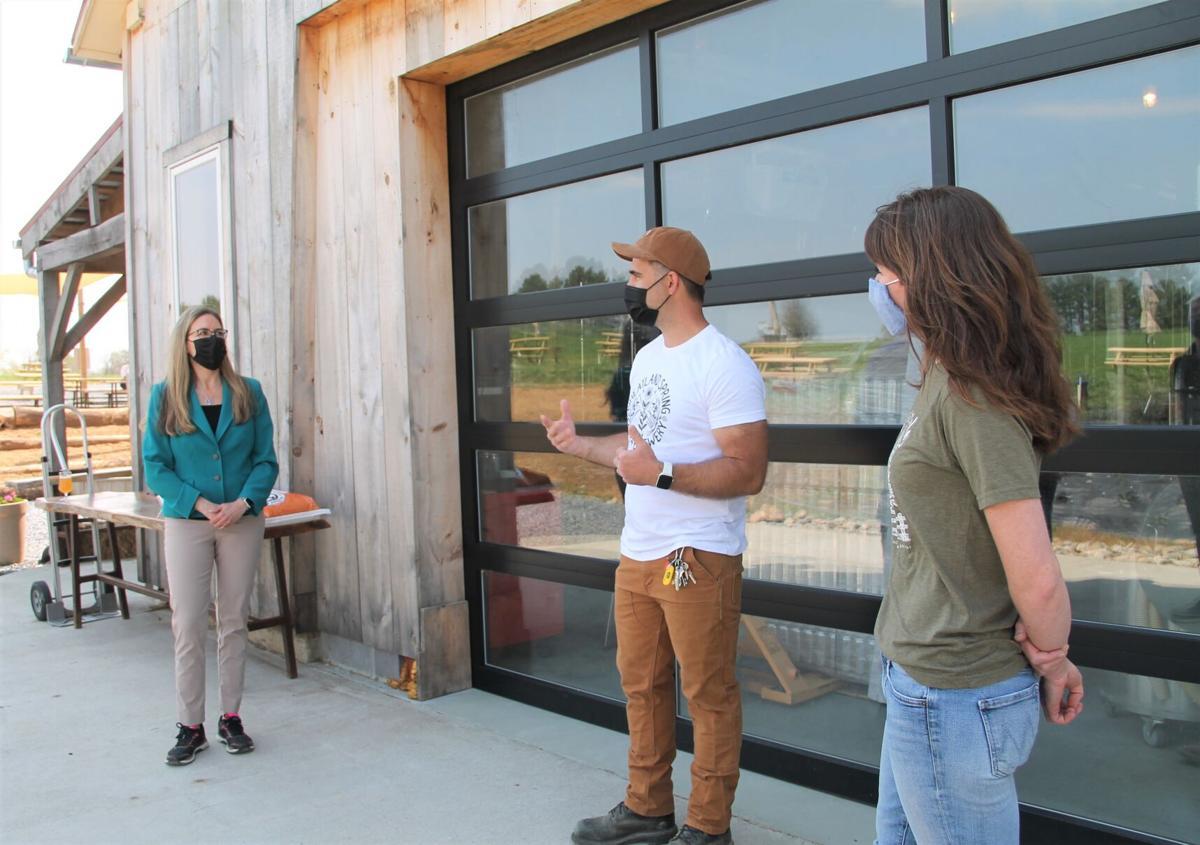 Wexton tours western Loudoun agribusinesses