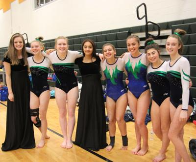 WHS 18 gymnastics