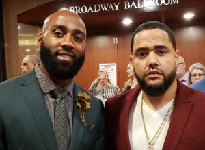 Former Redskins player DeAngelo Hall talks about his new 'upscale barbershop' in Ashburn