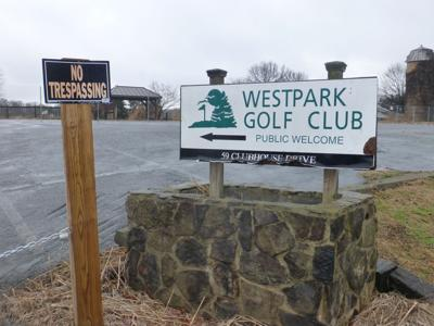 Westpark Golf Club entrance sign