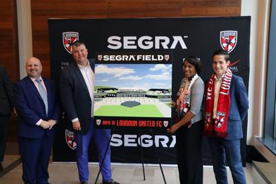 Loudoun United Segra Field Unveiling