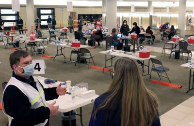 Vaccination Pod at Dulles Town Center | Vaccination Operations