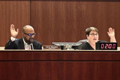 LCPS budget approval - Mahedavi, Sheridan