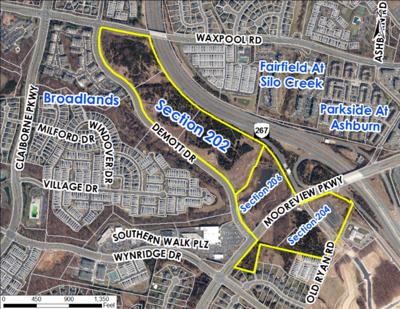 Broadlands Ashburn Metro Development Project